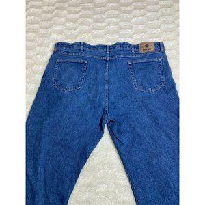 Wrangler Authentics Men's Size 44x30 Blue Denim